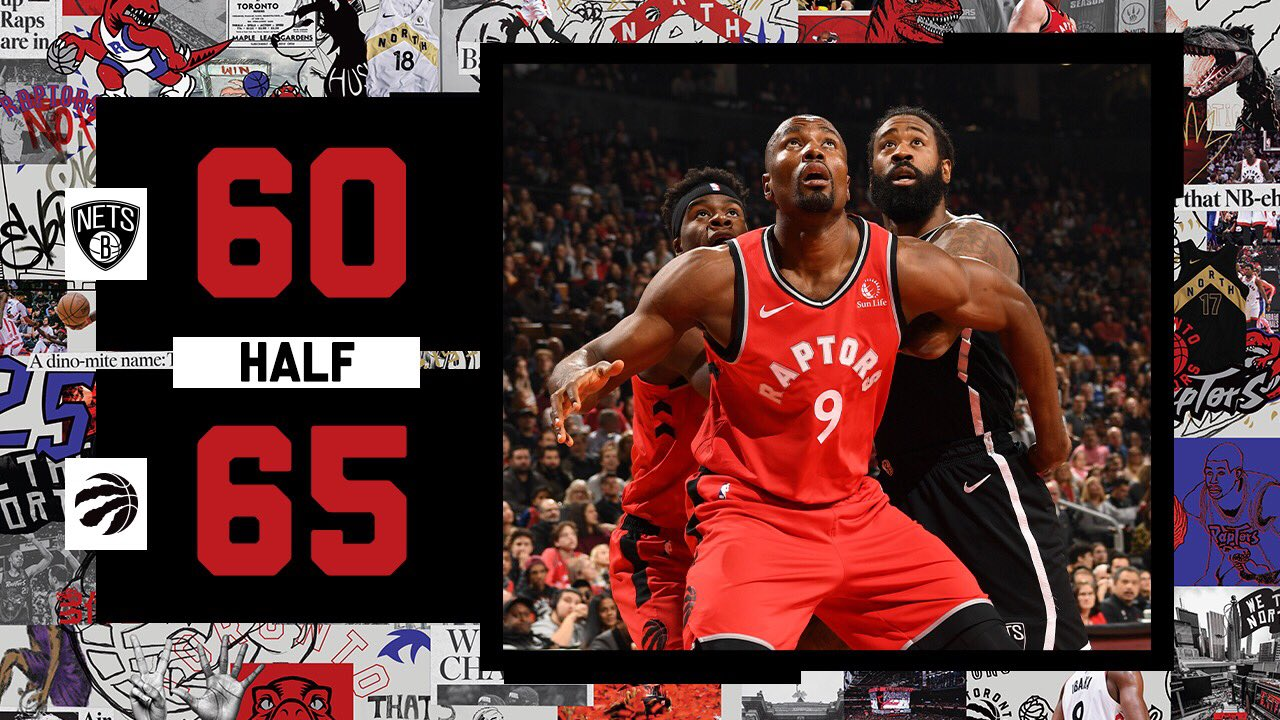 Toronto Raptors vs. Brooklyn Nets - Camiseta Toronto Raptors